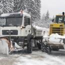 Snijeg-bager na putu