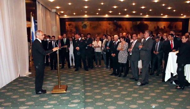 Tomislav Puhalac u ruskoj ambasadi
