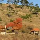 jesenji seoski pejzaz oko visegrada