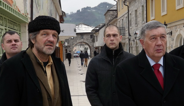 Emir Kusturica i Nebojša Radmanović