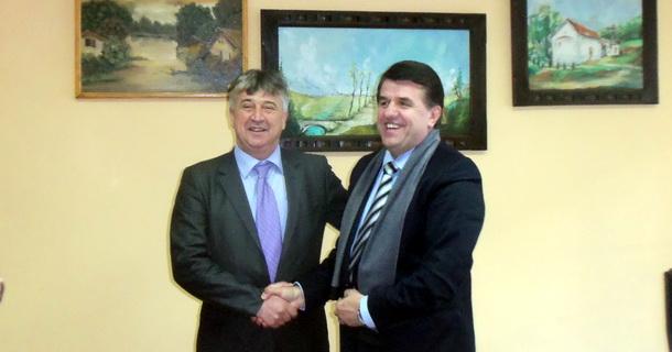 Goran Karadžić i Muhamed Ramović