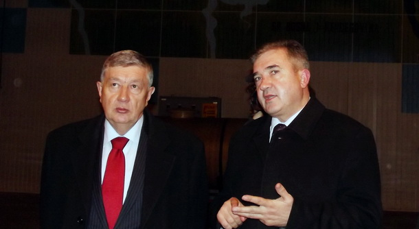 Nebojša Radmanović i Mile Lakić