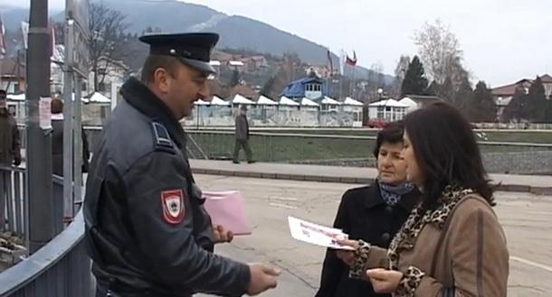 Policija u Višegradu protiv pirotehnike