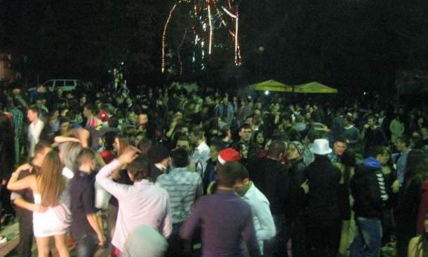 Doček Nove 2014 u Rudom