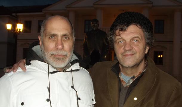 Giljermo Arijaga i Emir Kusturica