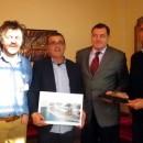 Milorad Dodik, Emir Kusturica i Nebojša Marković