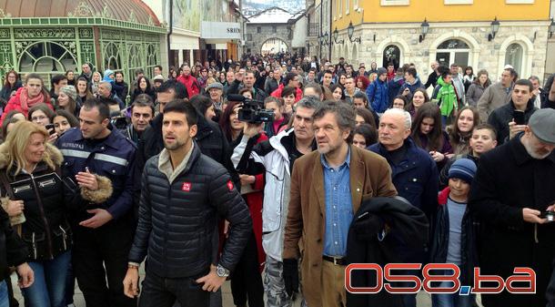 Novak Đoković u Andrićgradu