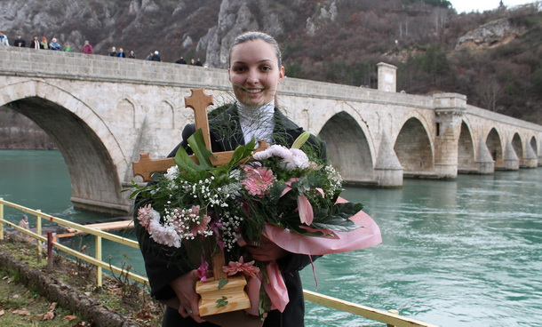 Plivanje za krst 2014 - pobjednica
