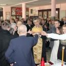 Sveti Sava u srednjo školi u Višegradu