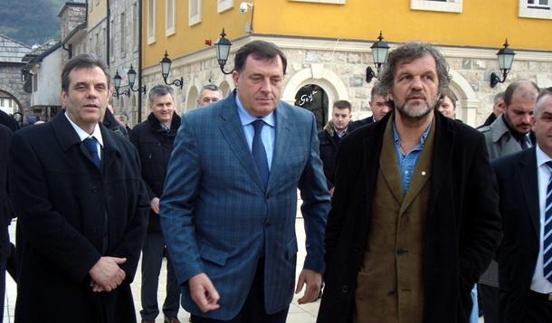 Koštunica Dodik i Kusturica