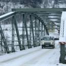 Most u Foči - željeznički