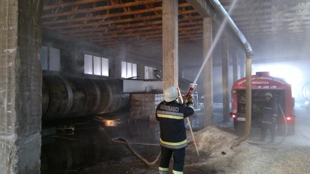 Požar u Peletu u Rogatici