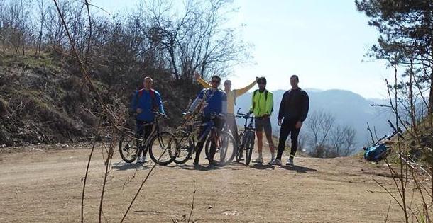Biciklisti iz Višegrada u Rudo