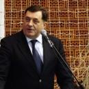 Milorad Dodik na mitingu