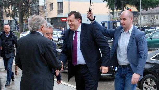 Milorad Dodik u Foči