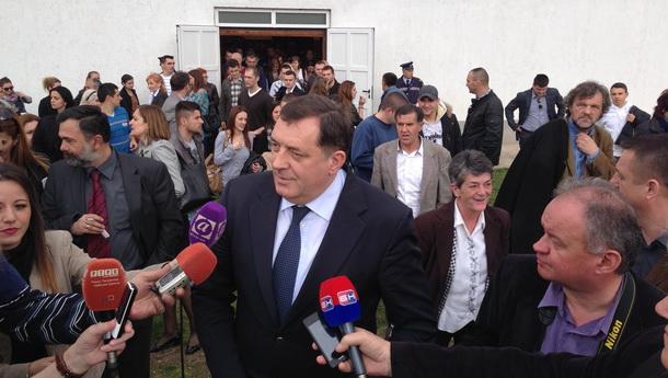 Milorad Dodik u Višegradu