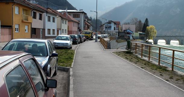 Parking u Višegradu