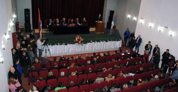 Tribina Dodika u Foci