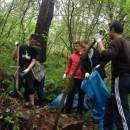Asocijacija mladih Foća ćisti okolinu