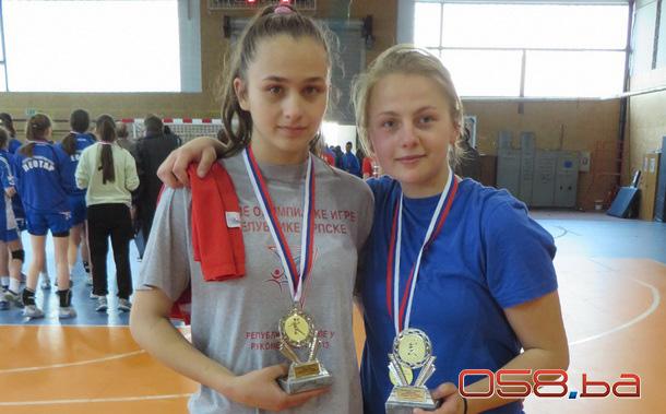 Ema Radmilović i Dejana Kulić - rukomet
