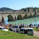 Kajak-kanu regata kroz Višegrad