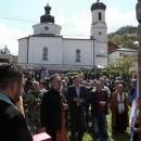 Parastos ruskim dobrovoljcima u Višegradu