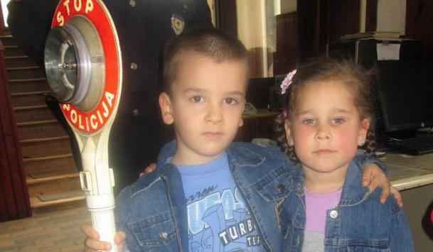 Djeca iz Čajniča u policiji