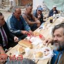 Dodik u Kusturica doručkuju sa radnicima