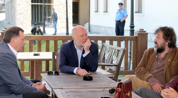 Dodik u Kusturica u Andrićgradu