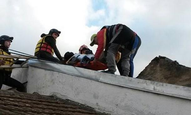 Fočanski rafteri u akciji spasavanja stanovnistva