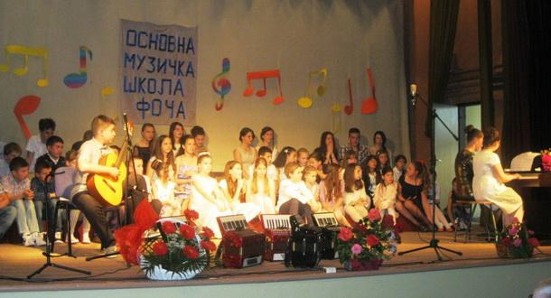 Koncert osnovne škole u Foči