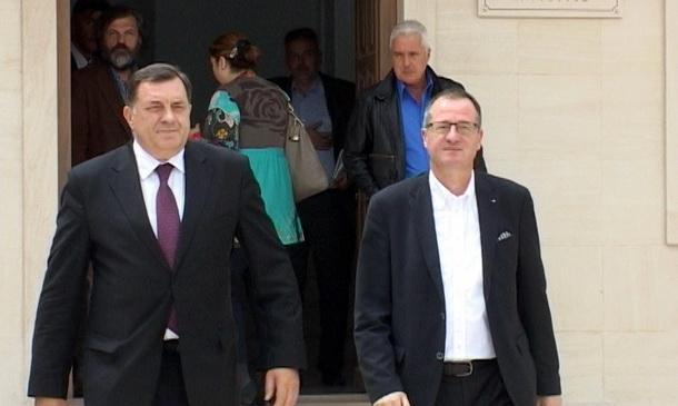 Milorad Dodik i bankari