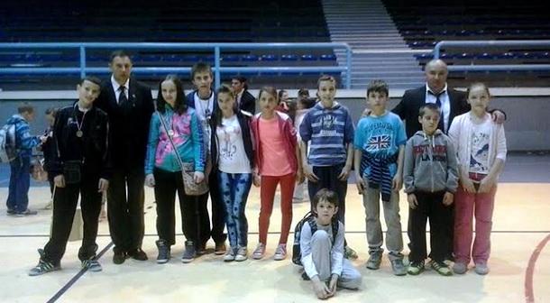 Mladi karatisti Drine u Bileći