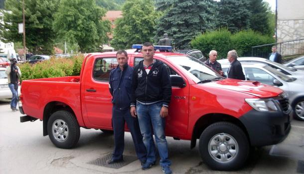 Novo vozilo za vatrogasc u Foči