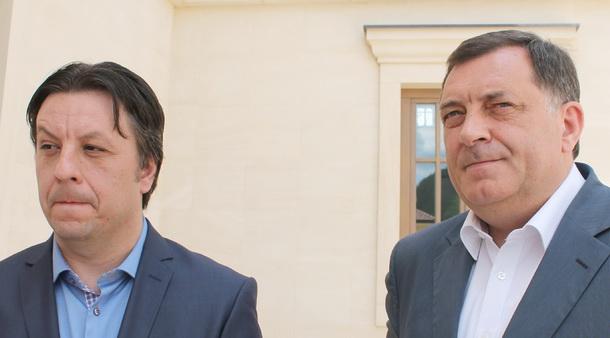 Pero Petrović i Milorad Dodik