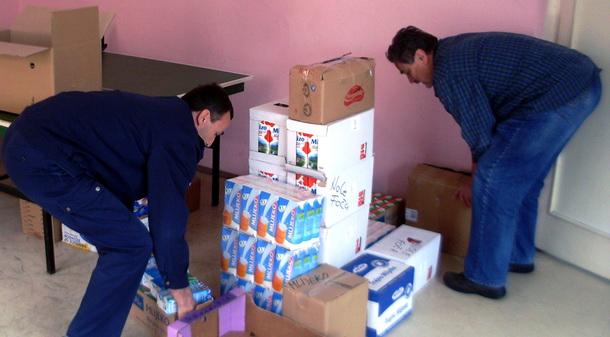 Pomoć za poplavu u Foči