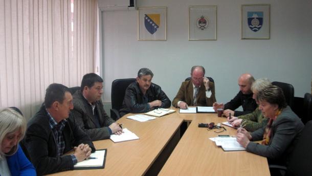 Sastanak Civilne zaštite u Foči