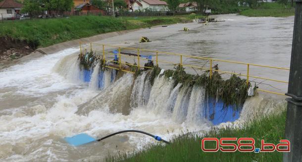 Smanjene poplave u Rogatici