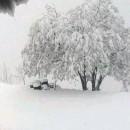 Snijeg na Kmuru u Foči
