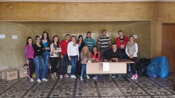 Studenti u Foči skupljaju pomoć za poplave