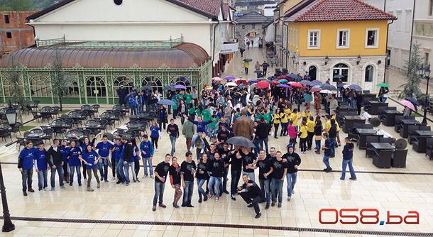 Visegradski maturanti u Andrićgradu 2014