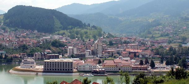 Andricgrad - panorama