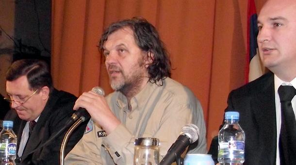 Kusturica promovise projekat Andricgrad - 28.2.2011.