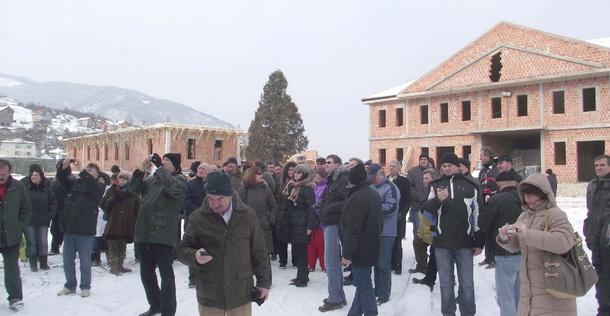 Prva organizovana  turistička posjeta  Andrićgradu-Vojvođani - 2.2.2012.
