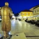 Andrićgrad - spomenik Ivo