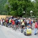 Biciklisti na Trgu u Višegradu
