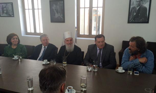 Dodik, Kusturica i Irinej