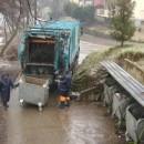 Kamion za smeće u Foči