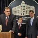 Milorad Dodik na konferenciji u Beogradu