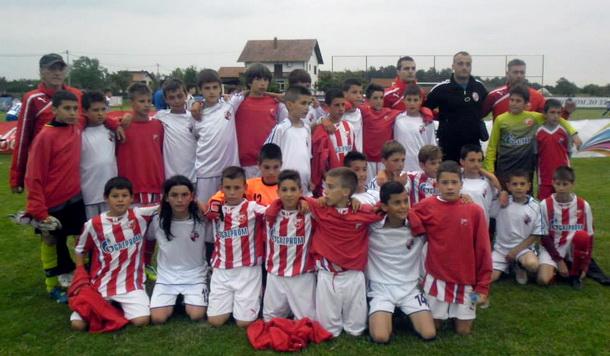 Mladi fudbaleri Mladosti na turniru Save Miloševića